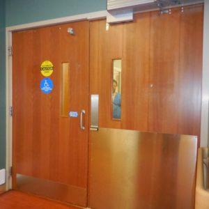 ER Door at Control Desk